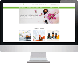 Natural Essence Website thumbnail