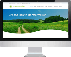 Pathways to wellness Website thumbnail