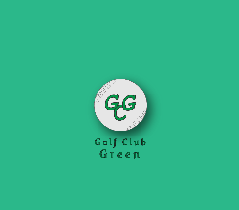 Logo Golf Club Green