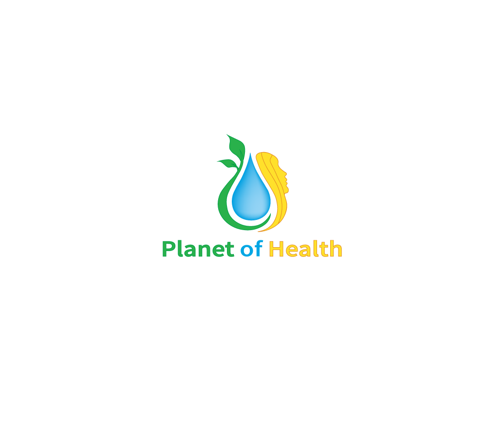 Planet of health logo design