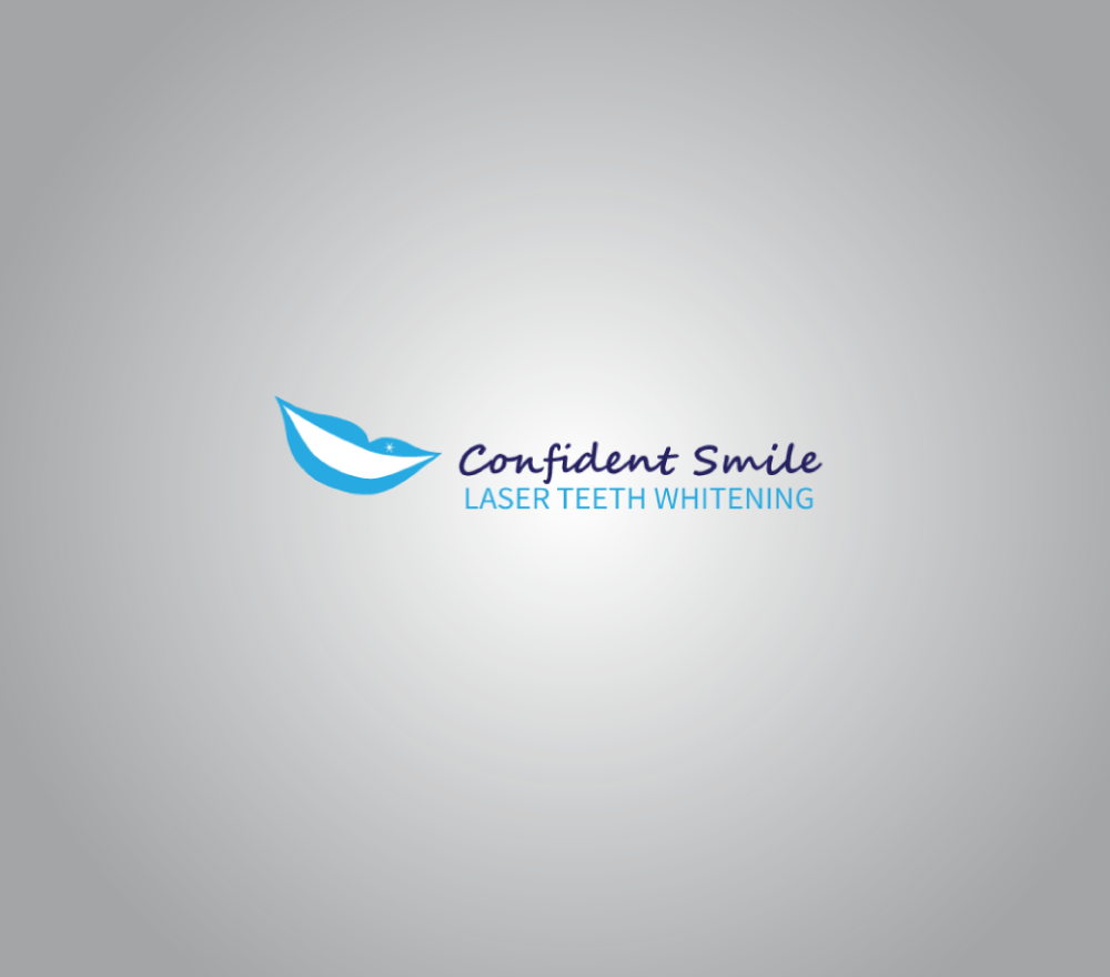 Teeth whitening logo
